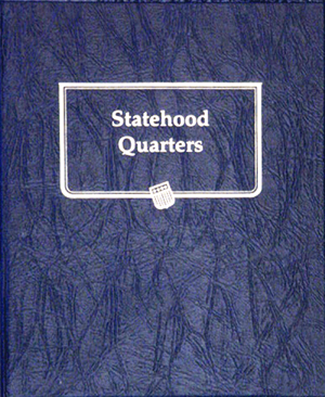Statehood Quarters Whitman Coin Album Date Set Model 9176 Statehood Quarters, Whitman Coin Album, 9176