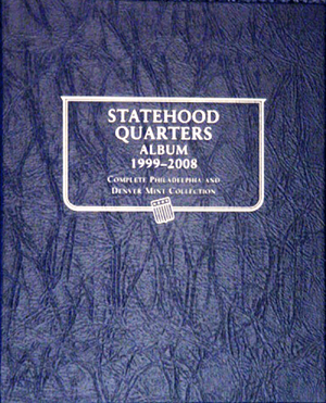 Statehood Quarters Whitman Coin Album P&D Statehood Quarters Whitman Coin Album P&D, Whitman, 1582380899