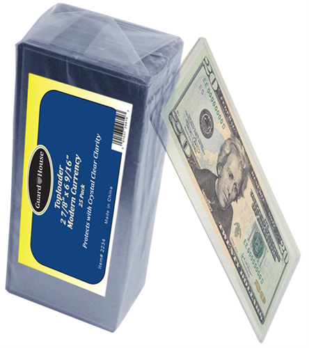 Modern Currency Top Loader by Guardhouse