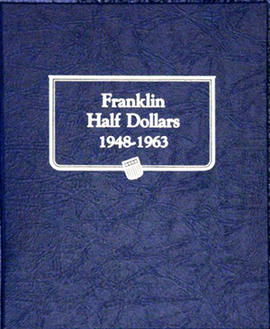 Whitman Franklin Half Dollar Coin Album 1948 - 1963