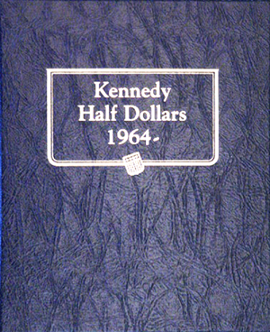Whitman Kennedy Half Dollars Album 1964 - 2002