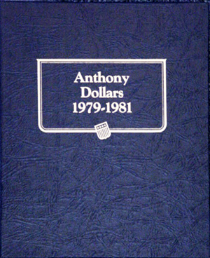 SBA Dollars Whitman Coin Album SBA Dollars Whitman Coin Album, Whitman, 9149