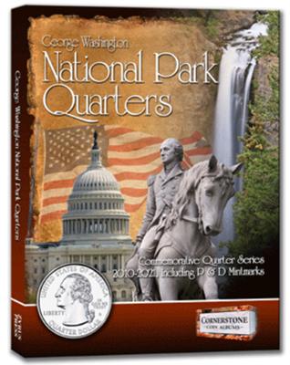 Cornerstone Album for National Park Quarters 2010 - 2021