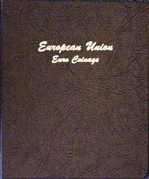 Euro Coins - Dansco Coin Album 7400 dansco euro coin album, euro coin album, euro coins, dansco coin album, coin collecting supplies