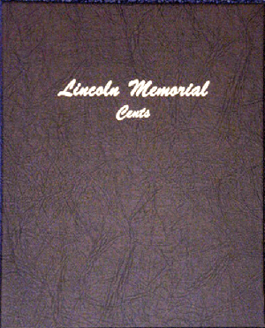 Lincoln Memorial Cents - Dansco Coin Album 7102 Lincoln Memorial Cents Dansco Coin Album, Dansco, 7102