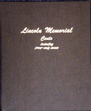 Lincoln Memorial Cents w/ Proofs Dansco Coin Album 8102