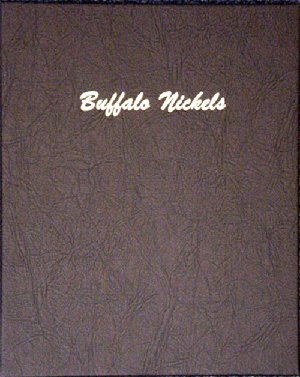 Buffalo Nickels Dansco Coin Album 7112