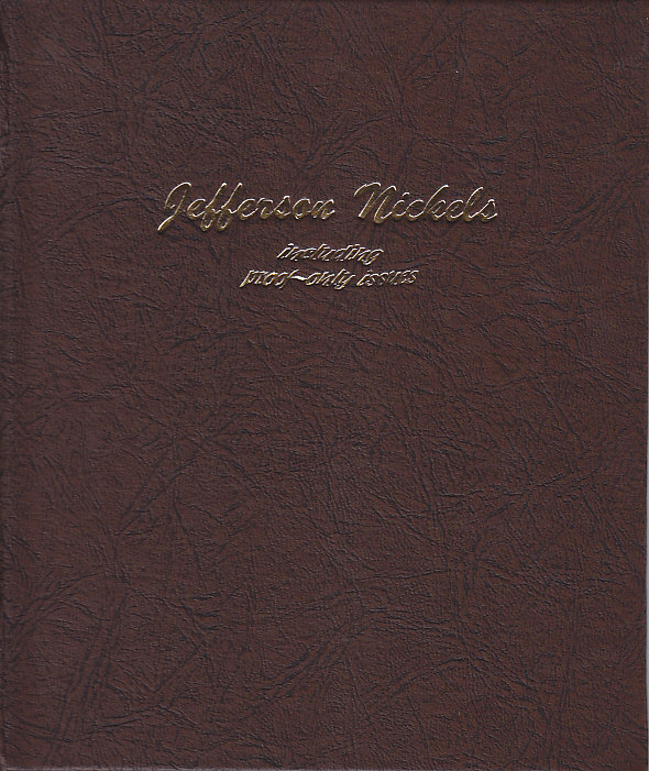 Jefferson Nickels w/ Proofs Dansco Coin Album