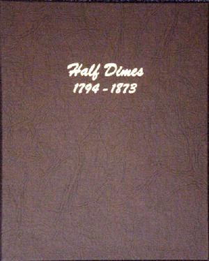 Half Dimes - Dansco Coin Album 6120 Half Dimes Dansco Coin Album , Dansco, 6120