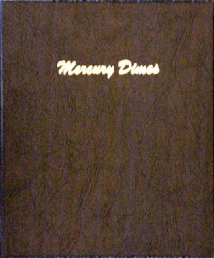 Mercury Dimes - Dansco Coin Album 7123 Mercury Dimes Dansco Coin Album , Dansco, 7123