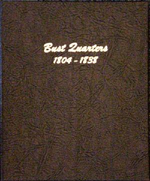 Bust Quarters - Dansco Coin Album 6141