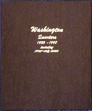 Washington Quarters with Proofs - Dansco Coin Album 8140