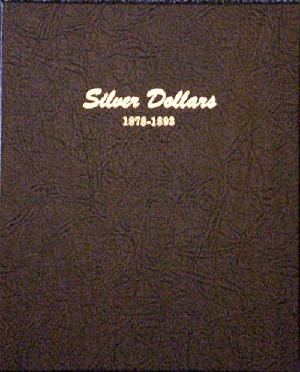 Silver Dollar - Dansco Coin Album 7173 Silver Dollar Dansco Coin Album , Dansco, 7173