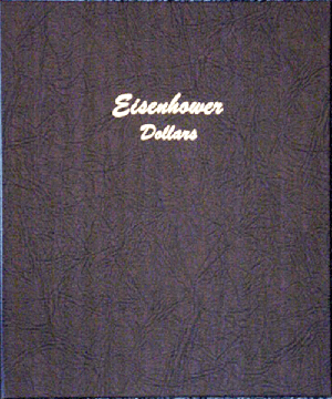 Eisenhower Dollars - Dansco Coin Album 7176 Eisenhower Dollars Dansco Coin Album , Dansco, 7176