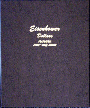 Eisenhower Dollars with Proofs - Dansco Coin Album 8176 Eisenhower Dollars w/ Proofs Dansco Coin Album , Dansco, 8176