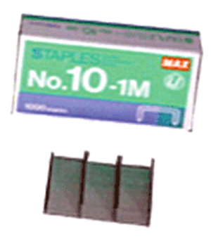 Mini Staples, 1000 qty. Max 10-1M Mini Staples, Max USA Corp, 10-1M