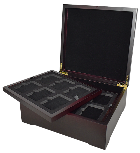 Guardhouse 4 Tray Wood Display Box - (Trays Sold Separately)