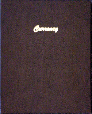 Currency Album- Dansco 7001 dansco currency album 7001 vinyl modern