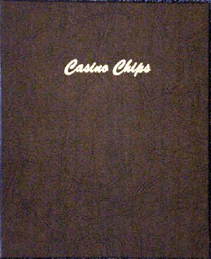 40mm Casino Chip plain 5 pages, 45 ports - Dansco Chip Album 7007 40mm Casino Chip Dansco Coin Album   plain 5 pages, 45 ports, 40mm, Dansco, 7007