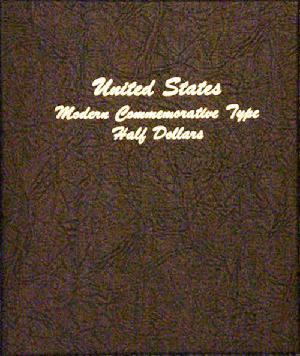 Modern Commemorative Type Half Dollar - Dansco Coin Album 7061