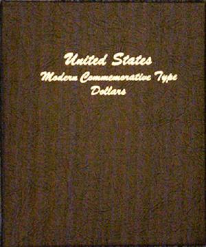 Modern Commemorative Type Dollar - Dansco Coin Album 7062