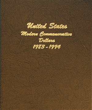 Modern Commemorative Dollar Vol.1 - Dansco Coin Album 7065 Modern Commemorative Dollar Vol.1 Dansco Coin Album , Dansco, 7065