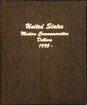 Modern Commemorative Dollar Vol.2 - Dansco Coin Album 7066