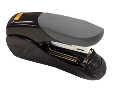 Flat Clinch Stapler - Half-Strip Style For 2x2 Flips Max Flat Clinch Stapler HD-50F Half Strip Size, Max USA Corp, HD-50F, 2x2 flip stapler