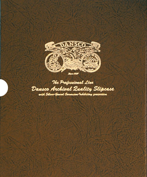 "1"" Dansco Coin Album Slipcase"