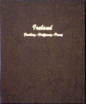 Ireland farthing-1/2d-1d Farthing - Dansco Coin Album - 24832