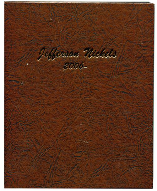 Jefferson Nickels 2006 to Date - Dansco Coin Album 7114
