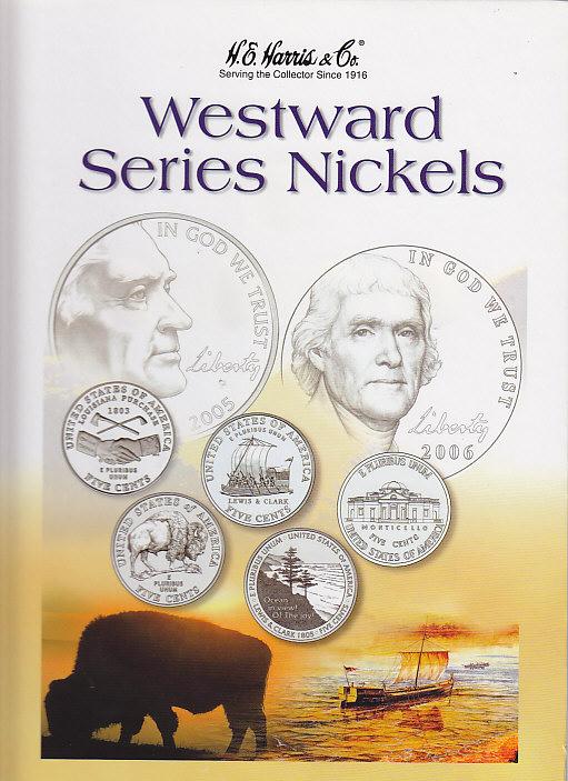 H.E. Harris Westward Journey Nickel Coin Folder 2004 - 2006