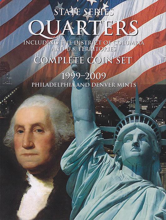 112 State Quarter HE Harris Coin Folder Quarters