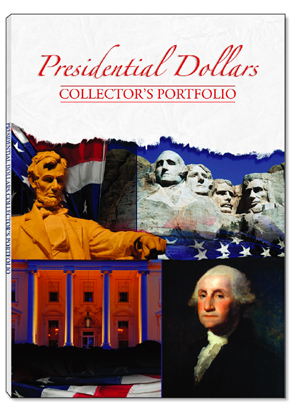 Presidential Dollars Collectors Portfolio 11.5x16 Presidential Dollars Collectors Portfolio, Whitman, 0794821723