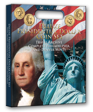 Deluxe Presidential Dollar Coin Traveling Archive Deluxe Presidential Dollar Coin Traveling Archive, Whitman, 0794823904