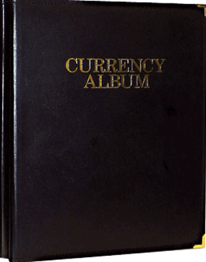 HE Harris Deluxe Modern Currency Album