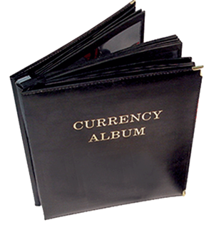 HE Harris Deluxe Large-Sized Currency Album