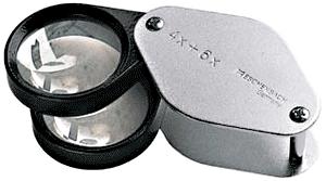 Precision 10x Folding Pocket Magnifier Precision Folding Pocket Magnifier Eschenbach 1187, Eschenbach, 1187