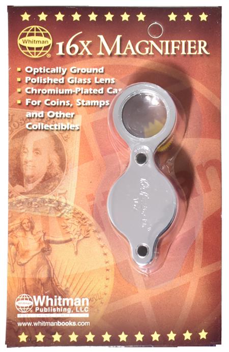 16X Pocket Magnifier H.E. Harris Loupe
