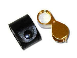 10X Gold Triple Magnifier HE Harris 1029G 10x 10X Gold Triple Magnifier HE Harris 1029G, HE Harris & Co, 3352