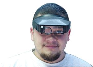 Easy Eyes Head Magnifier Easy Eyes Head Magnifier, CS Express, ELP-550.40