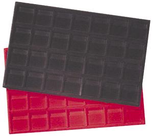 2x2 Flip Horizontal Display Tray Black Tray - Horizontal 2x2 Flip Horizontal Display Tray Black, Guardhouse,