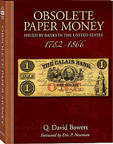 Obsolete Paper Money, 1st Edition  ISBN:0794822037 Obsolete Paper Money, Whitman, 0794822037
