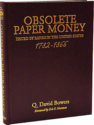 Obsolete Paper Money, 1st Edition  ISBN:0794822045 Obsolete Paper Money, Whitman, 0794822045