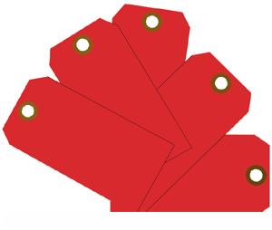 """Plain ID Tags 2-3/8"""" x 4 3/4"""" Plain ID Tags, MMF, 210071707"""
