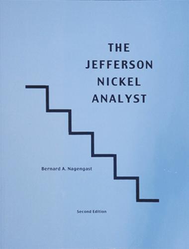 Jefferson Nickel Analyst, 2nd Edition  ISBN:0971989907 Jefferson Nickel Analyst, Nagengast, 10862
