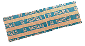 Flat Nickel Coin Wrappers Nickel Flat Nickel Coin Wrappers, MMF, 216020008