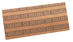 Flat Small Dollar Coin Wrappers Small Dollars Flat Small Dollar Coin Wrappers, MMF, 216020001