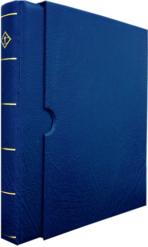 Vario Ring Binder and Slip Case - Blue Vario Ring Binder and Slip Case - Blue, Lighthouse, VARIOF - Blue