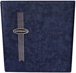 King Size Supersafe Binder - Blue - 34816